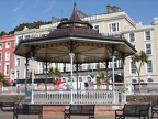 Bandstand outside hotel