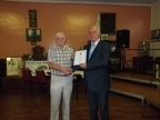 Presentation of Life Membership to John Goodwin