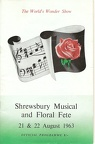 Shrewsbury Musical and Floral Fete 1963