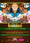 "Ysgol Pen Y Bryn launch poster for""Discovering Dylan Thomas"""