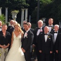Bill's daughter's wedding at Sketty Hall