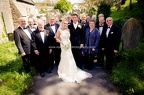 Wedding at St Illtyd's, Llanrhidian